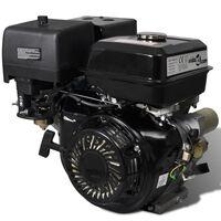 vidaXL Benzinmotor mit Elektrostart 15 PS 11 kW Schwarz