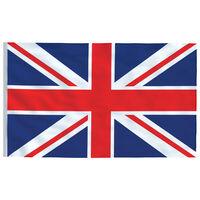 vidaXL Flagge des Vereinigten Königreichs 90 x 150 cm
