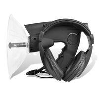 vidaXL Parabol-Richtmikrofon mit Visierung und Kopfhörer