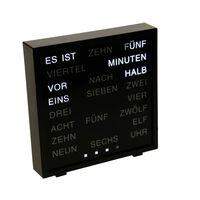 United Entertainment LED-Wortuhr Deutsch 16,5x17 cm