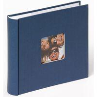 Walther Design Fotoalbum Fun Memo 10x15 cm Blau 200 Fotos