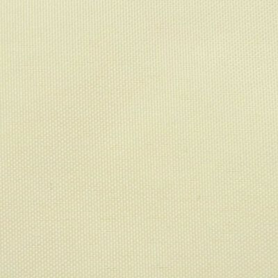 vidaXL Sonnensegel Oxford Gewebe Dreieckig 5 x 5 x 5 m Creme