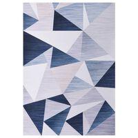 vidaXL Teppich Bedruckt Mehrfarbig 160x230 cm Stoff