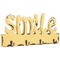 vidaXL Wandgarderobe SMILE 50 X 23 cm