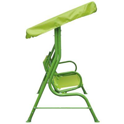 vidaXL Kinder-Hollywoodschaukel Grün