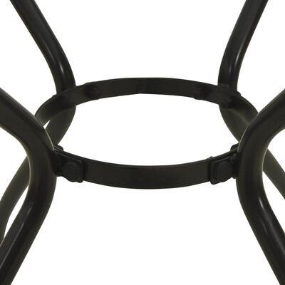 vidaXL Bistrotisch 60 x 60 x 70 cm Stahlgewebe