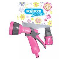 Hozelock Seasons Multi Spritzpistole Set Rosa 2676 6720