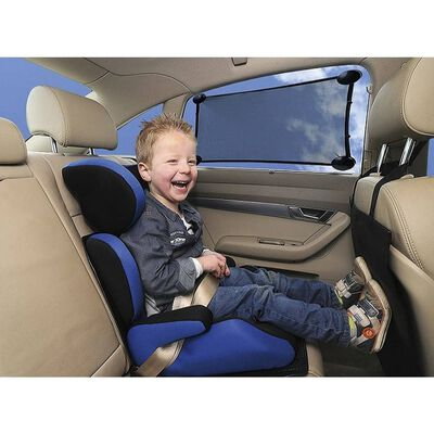 A3 Baby & Kids Auto-Sonnenschutz Dehnbar Schwarz