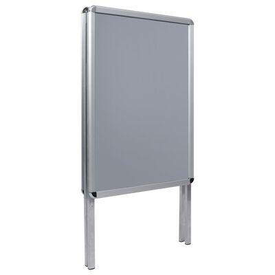 vidaXL A1 Kundenstopper Plakatständer Aluminium