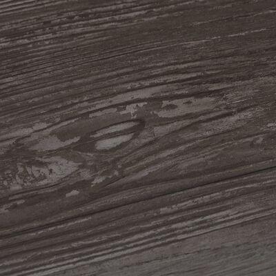 vidaXL PVC-Laminat-Dielen 4,46 m² 3 mm Gestreift Holzoptik