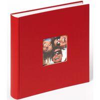 Walther Design Fotoalbum Fun 30x30 cm Rot 100 Seiten