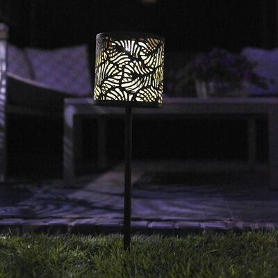 Luxform Solar LED Gartenstecker-Leuchte Forest