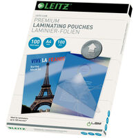Leitz Laminierfolien ILAM 100 Mikron A4 100 Stk.