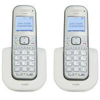 Fysic DECT-Telefon für Senioren FX-9000 DUO Twin Weiß