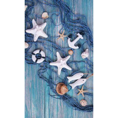 Good Morning Strandtuch KEVIN 100×180 cm Blau