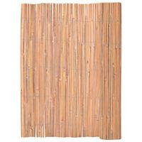 vidaXL Bambuszaun 125 x 400 cm