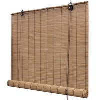 Braunes Bambusrollo 150 x 220 cm