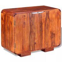 vidaXL Sideboard Massivholz 75 x 35 x 60 cm