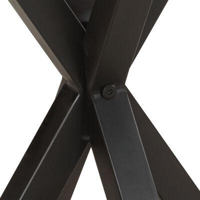 vidaXL Beistelltisch 48x48x56 cm Altholz Massiv