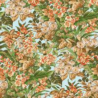 DUTCH WALLCOVERINGS Tapete Blumenmuster Mehrfarbig