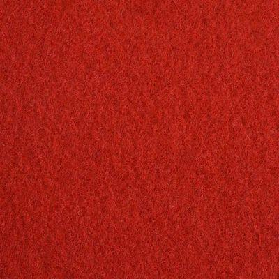 vidaXL Messeteppich Glatt 1x24 m Rot