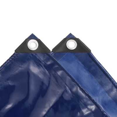 vidaXL Abdeckplane 650 g/m² 3x4 m Blau