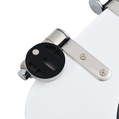 vidaXL Toilettensitz mit Soft-Close-Deckel MDF Wassertropfen-Design