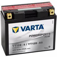Varta Motorradbatterie Powersports AGM YT12B-4/YT12B-BS