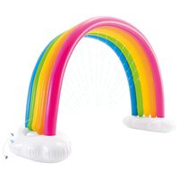 Intex Rainbow Cloud Sprinkler Mehrfarbig 300x109x180 cm