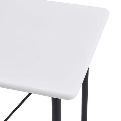 vidaXL 5-tlg. Bar-Set Kunststoff Weiß
