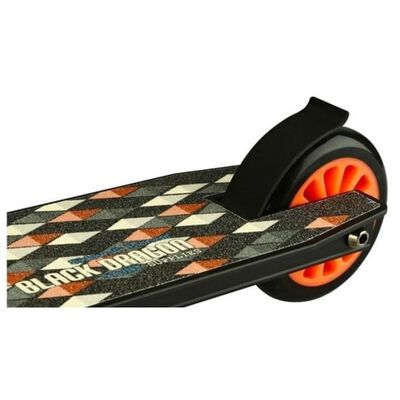 Black Dragon Stunt-Scooter Road Rage Schwarz und Orange