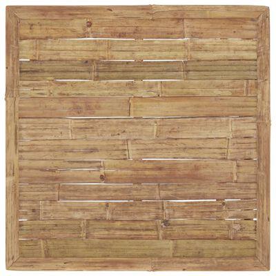 vidaXL Gartentisch 65x65x30 cm Bambus