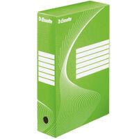 Esselte Archivbox 25 Stk. Grün 80 mm