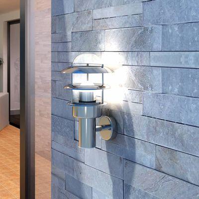 Patio LED Wandleuchte Lampe Edelstahl Außenlampe