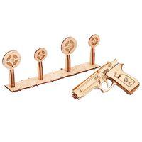 Wood Trick Modellbausatz Holz Schusswaffe