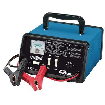 Draper Tools Batterieladegerät 25,8×14,5×25 cm 12/24 V 10,3 A