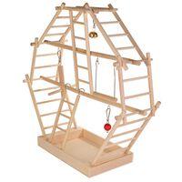 TRIXIE Holzleiter-Spielplatz 44x44x16 cm Holz 5659