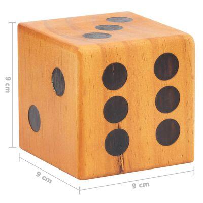 vidaXL Riesiges Holzwürfel Set 6 Stk. Kiefer Massivholz