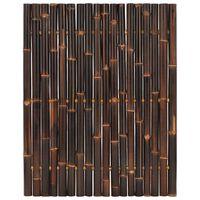vidaXL Gartenzaun-Element Bambus 120x150 cm Dunkelbraun