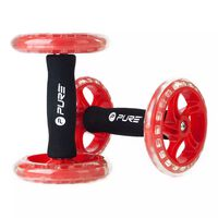 Pure2Improve Core-Training-Roller 2 Stk. Rot