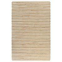 vidaXL Handgewebter Teppich Jute Stoff 120 x 180 cm Natur und Weiß