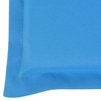 vidaXL Gartenbank-Auflage Blau 120 x 50 x 3 cm