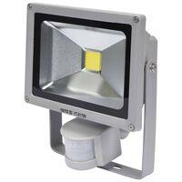 YATO LED-Lampe mit Bewegungsmelder 20 W Grau