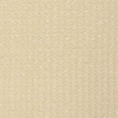 vidaXL Außenrollo 120 x 140 cm Cremeweiß