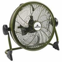 Bestron Outdoor Wiederaufladbarer Bodenventilator AOD12ACCU Grün