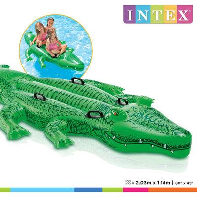 Intex Aufblasbares Krokodil 203x114 cm