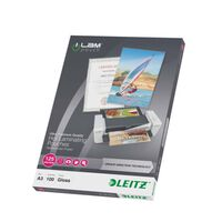 Leitz Laminierfolien ILAM 125 Mikron A3 100 Stk.