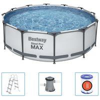 Bestway Steel Pro MAX Swimmingpool-Set 366x100 cm