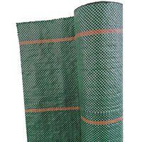 Nature Unkrautschutz-Bodengewebe 1×25 m Grün