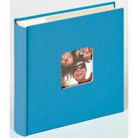 Walther Design Fotoalbum Fun Memo 10x15 cm Ozeanblau 200 Fotos